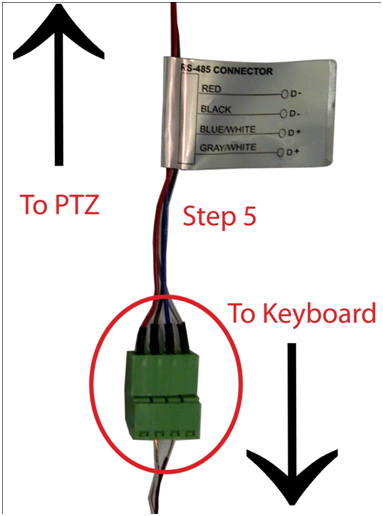2 ivigil technical support faq ptz camera wiring and setup with RS 485 Pinout Diagram at n-0.co
